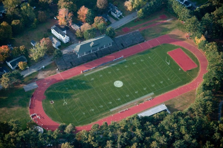Outdoor track aerial